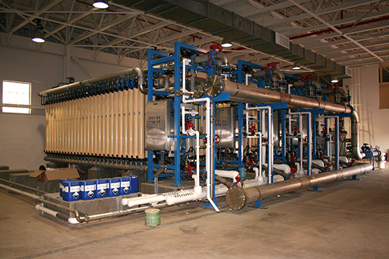 Another view of Microfiltration units